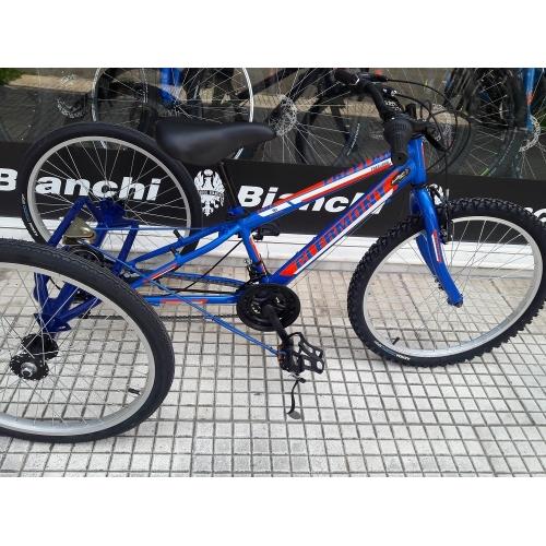 Χειροποίητη κατασκευή-μετατροπή 24΄ΜΤΒ ποδηλάτου