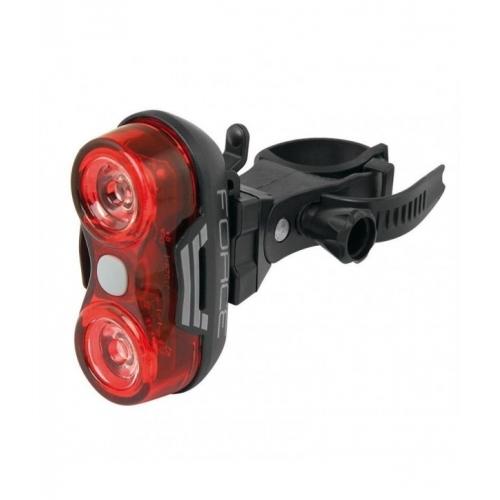 Force Optic 1 Watt οπίσθιο φως ποδηλάτου Δαλαβίκας bikes