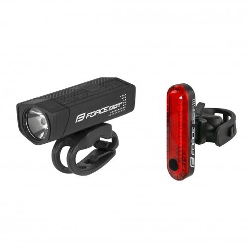 Force Σετ USB DOT φανάρια ποδηλάτου