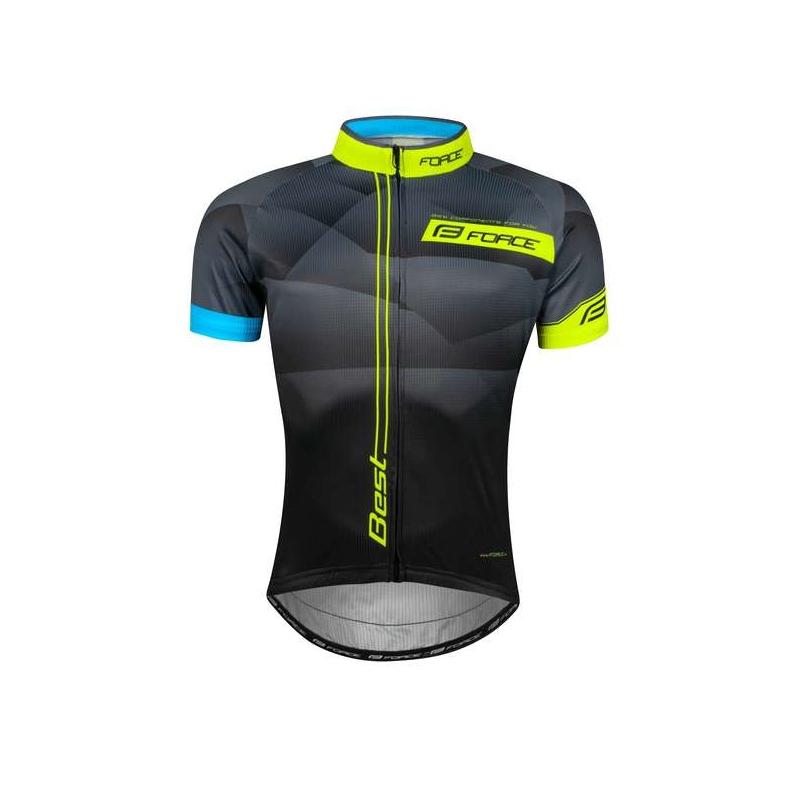 Force Best Unisex ποδηλατική μπλούζα κοντομάνικη Dalavikas bikes