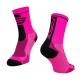 Force Long plus Ροζ ποδηλατικές κάλτσες