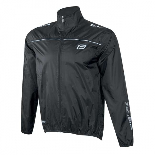 Force αντιανεμικό jacket X48 μαύρο Δαλαβίκας bikes