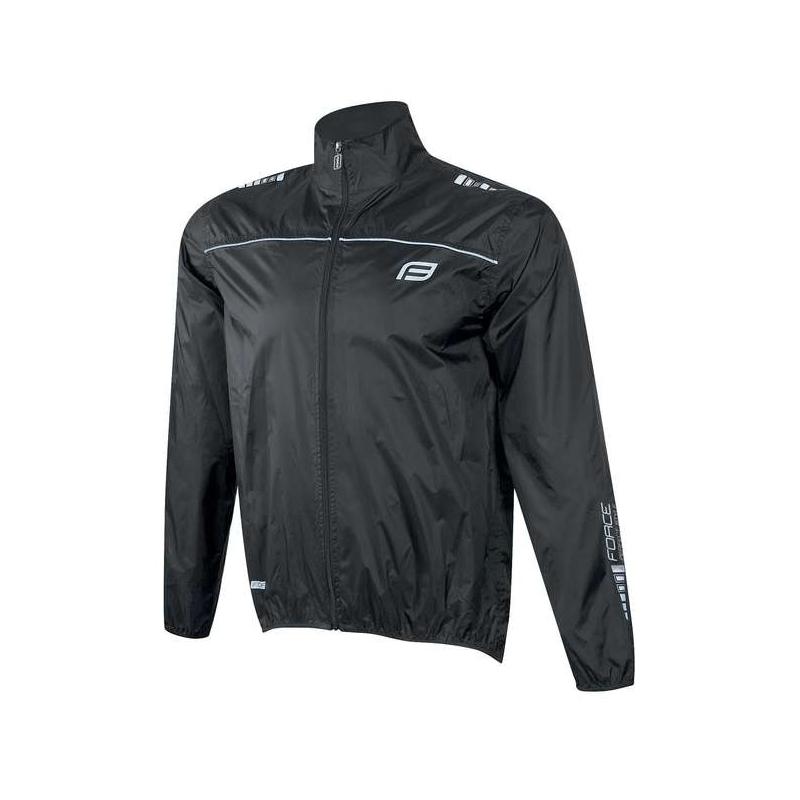 Force αντιανεμικό jacket X48 μαύρο Dalavikas bikes