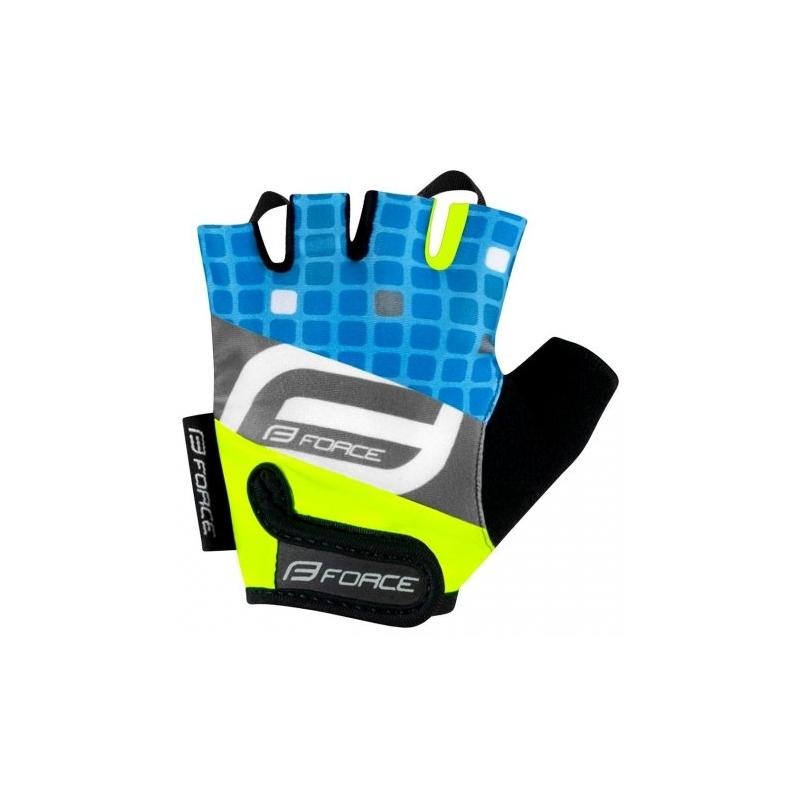Force παιδικά γάντια Square μπλε Dalavikas bikes