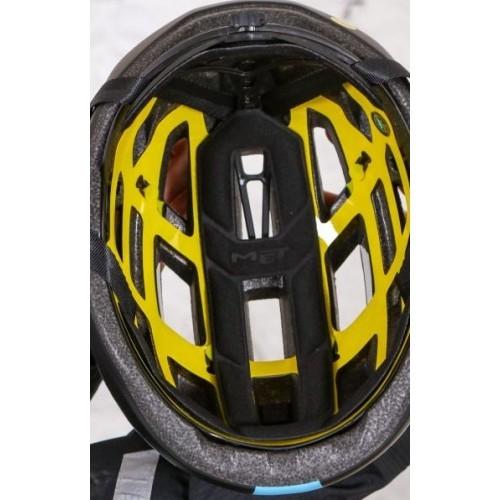 Ανταλλακτική επένδυση Κράνους MET Terranova Black/Black Δαλαβίκας bikes
