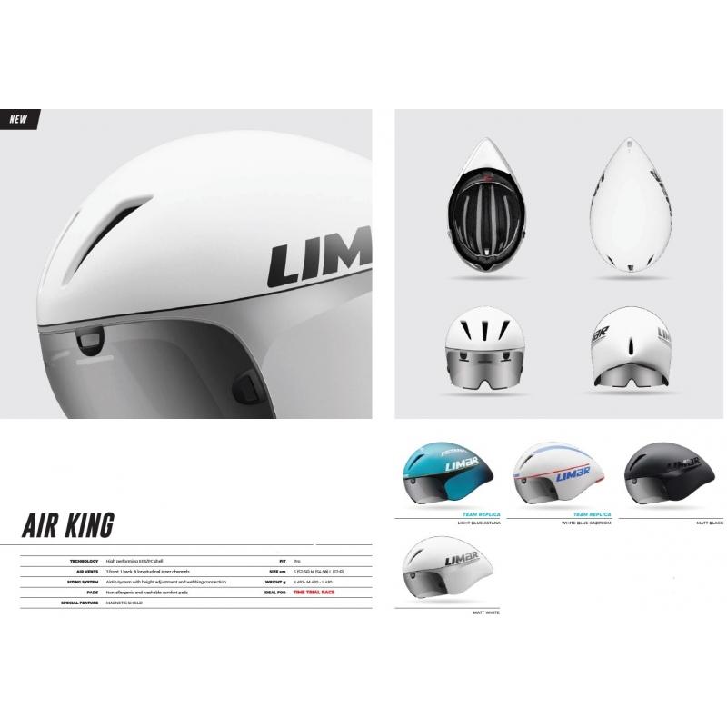Limar Air King ποδηλατικό κράνος δρόμου TT Dalavikas bikes