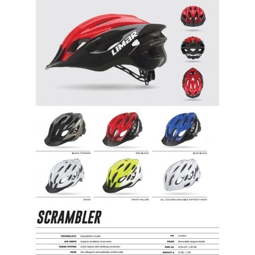Limar Scrambler ποδηλατικό κράνος Urban/Active Δαλαβίκας bikes