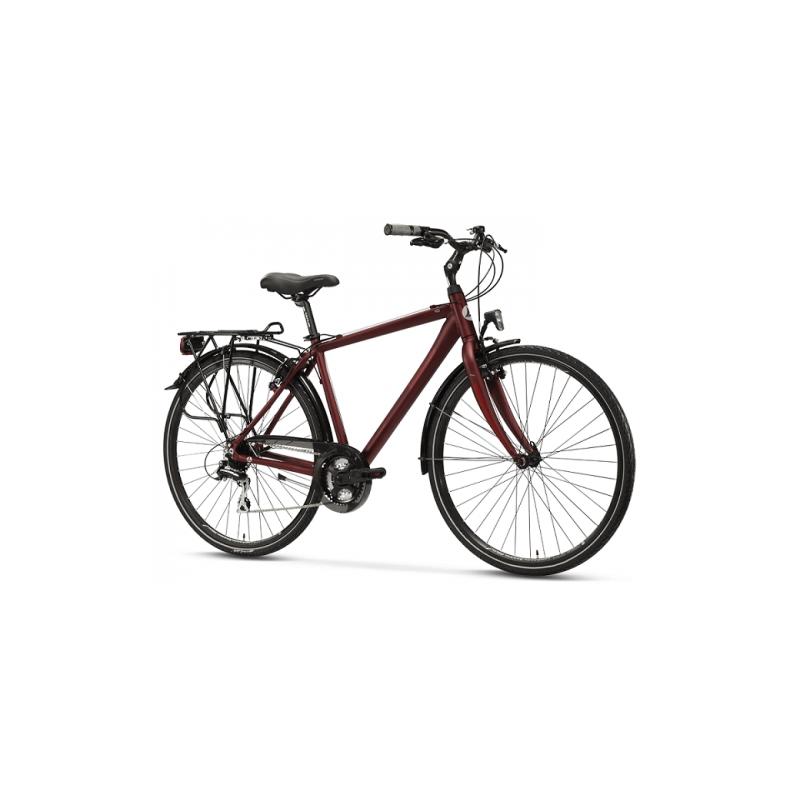 Lombardo Taranto 400 Uomo Trekking Bordeaux ποδήλατο πόλης Dalavikas bikes