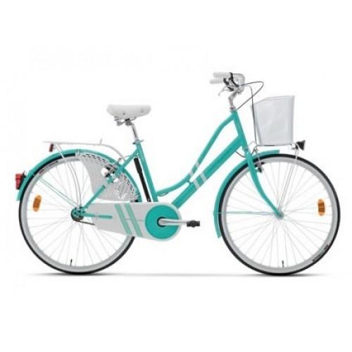 "Lombardo Ferrara Classic 26"" Green - White ποδήλατο πόλης Δαλαβίκας bikes"