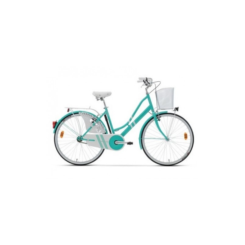 "Lombardo Ferrara Classic 26"" Green - White ποδήλατο πόλης Dalavikas bikes"