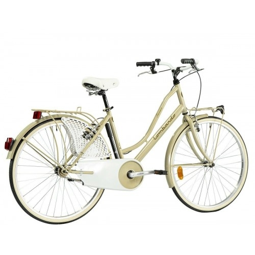 "Lombardo Ferrara Classic 26"" Ivory Glossy ποδήλατο πόλης Δαλαβίκας bikes"
