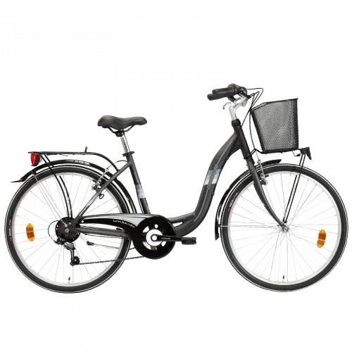 "Lombardo Taormina 26"" City Anthracite-Grey ποδήλατο πόλης Δαλαβίκας bikes"