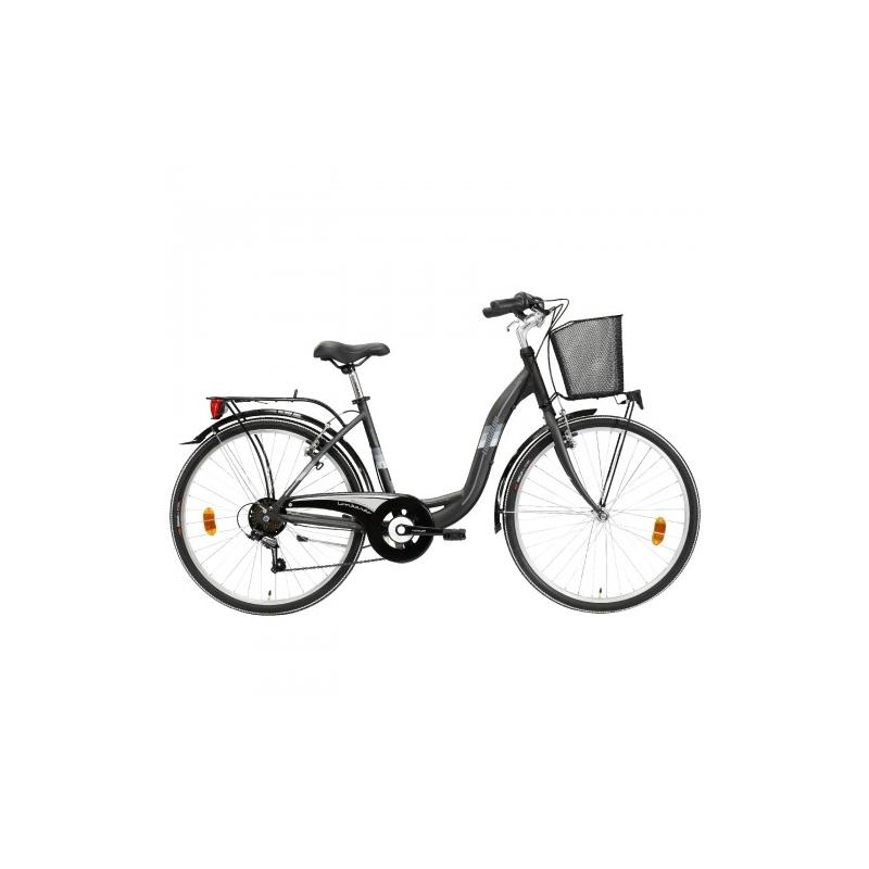 "Lombardo Taormina 26"" City Anthracite-Grey ποδήλατο πόλης Dalavikas bikes"