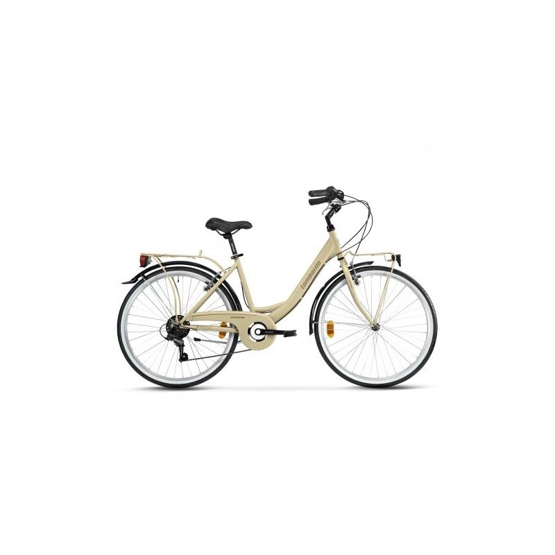 "Lombardo Rimini 26"" City 6-speed Sand Light Brown Glossy ποδήλατο πόλης Dalavikas bikes"