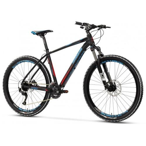 """Lombardo Sestriere 350 29"""" Black Blue Red ποδήλατο ΜΤΒ με υδραυλικά δισκόφρενα Δαλαβίκας bikes"""