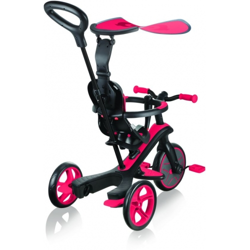 Globber Trike Explorer 4 in1-Red Τρίκυκλο ποδήλατο bebe & ισορροπίας Δαλαβίκας bikes
