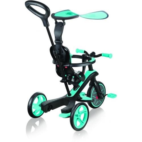 Globber Trike Explorer 4 in1-Teal Τρίκυκλο ποδήλατο bebe & ισορροπίας Δαλαβίκας bikes