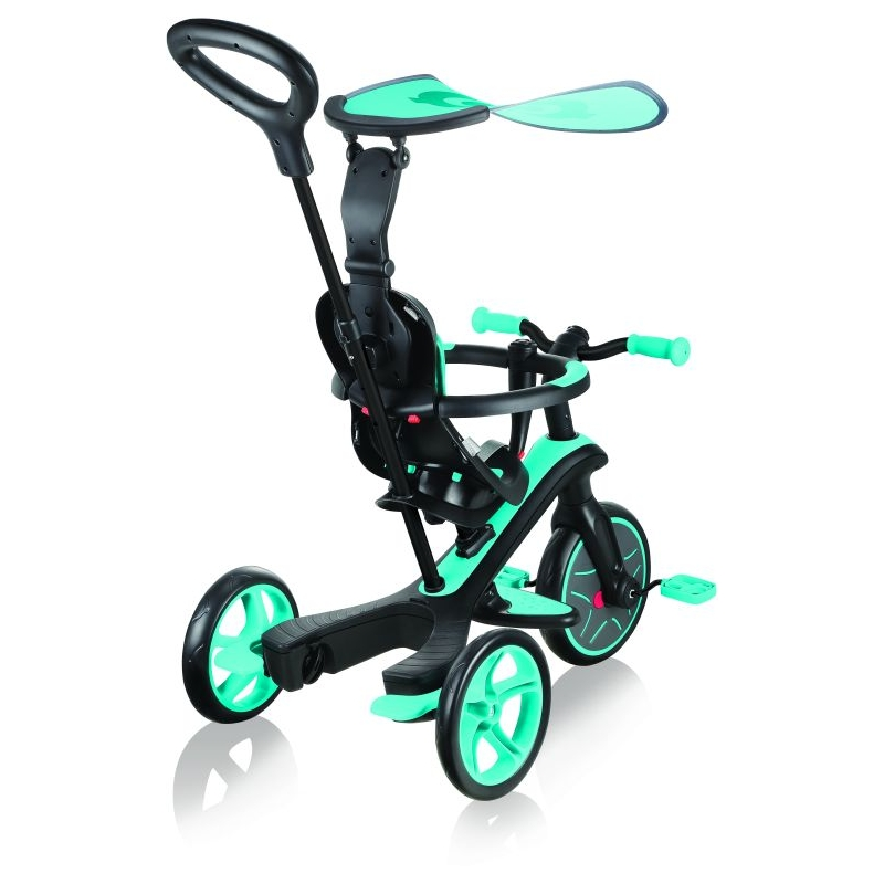 Globber Trike Explorer 4 in1-Teal Τρίκυκλο ποδήλατο bebe & ισορροπίας Dalavikas bikes
