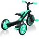 Globber Trike Explorer 4 in1-Teal Τρίκυκλο ποδήλατο bebe & ισορροπίας