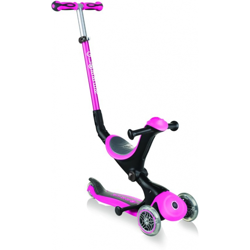 Globber Scooter Go-Up Deluxe Deep Pink παιδικό Πατίνι- Scooter Dalavikas bikes
