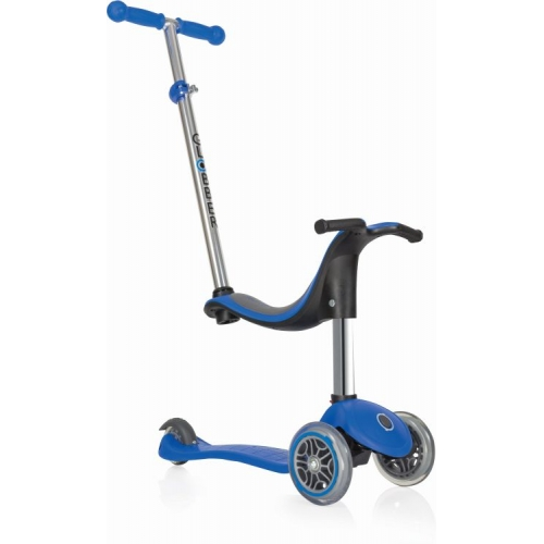 Globber Evo 4 In 1 - Navy Blue παιδικό Πατίνι- Scooter