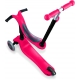 Globber Scooter Go-Up Sporty With Stabilizer & Sticker Red παιδικό Πατίνι- Scooter