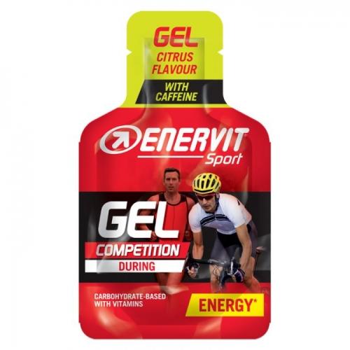 Enervit Gel Citrus with Caffeine - Ενεργειακό τζελ με καφεϊνη