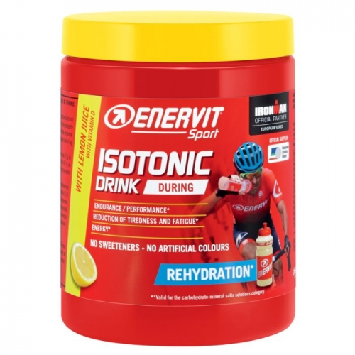 Enervit Isotonic Drink Lemon- Ισοτονικό ρόφημα