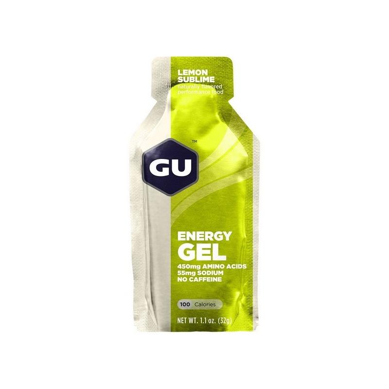 Gu Energy Gel lemon Ενεργειακό τζελ Dalavikas bikes
