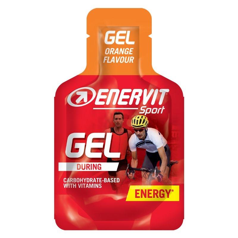 Enervit Gel Orange - Ενεργειακό τζελ χωρίς καφεϊνη Dalavikas bikes