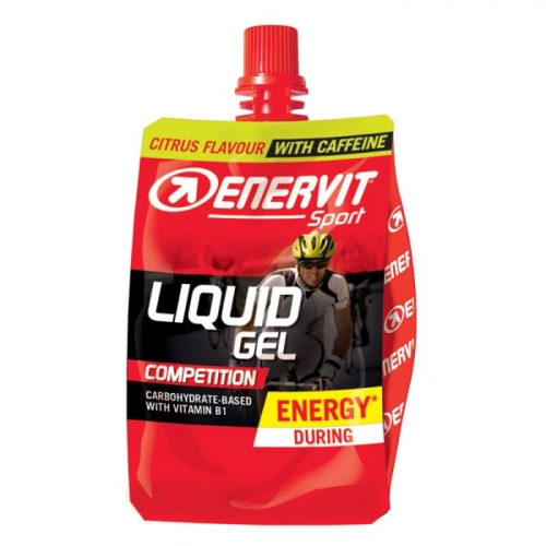 Enervit Liquid Gel Competition Citrus with Caffeine- Ενεργειακό τζελ