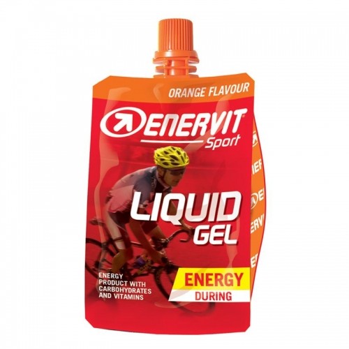 Enervit Liquid Gel Competition Orange no Caffeine- Ενεργειακό τζελ