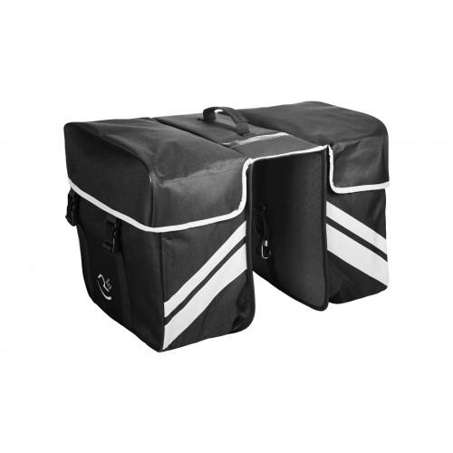 Τσάντα σχάρας RFR Διπλή μαύρη Δαλαβίκας bikes