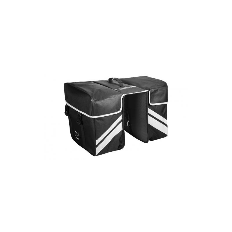 Τσάντα σχάρας RFR Διπλή μαύρη Dalavikas bikes