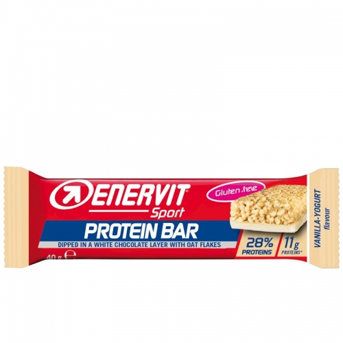 Enervit Protein Bar Vanilla Yogurt 28% - Μπάρα πρωτείνης- Αποκατάστασης Δαλαβίκας bikes