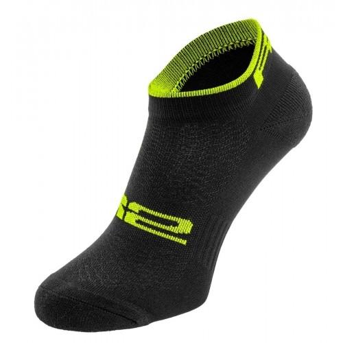 TOUR. R2 κάλτσες Μαύρες/Fluo Κίτρινες Δαλαβίκας bikes