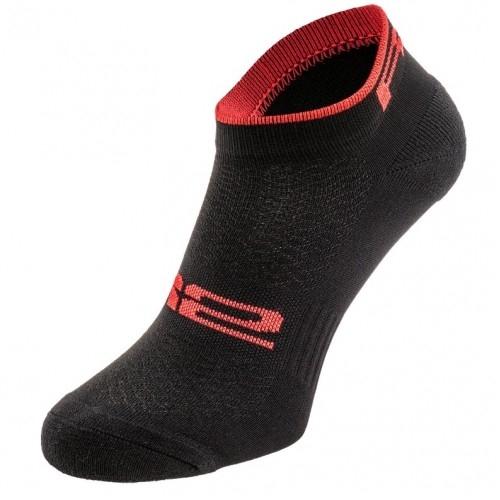 TOUR. R2 κάλτσες Μαύρες/Κόκκινες Δαλαβίκας bikes