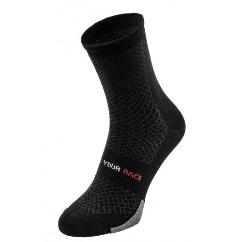 ENDURANCE. R2 κάλτσες μαυρες Δαλαβίκας bikes