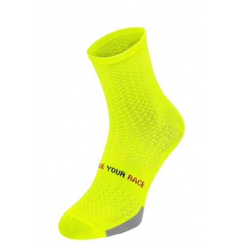 ENDURANCE. R2 κάλτσες Fluo κίτρινες Δαλαβίκας bikes