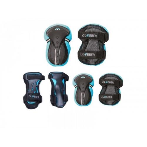 Globber σετ προστατευτικών αξεσουάρ XS Blue-(541-100) για ποδήλατο ή πατίνι Δαλαβίκας bikes