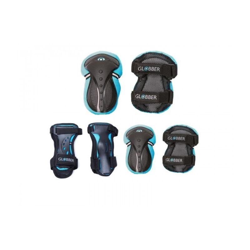 Globber σετ προστατευτικών αξεσουάρ XS Blue-(541-100) για ποδήλατο ή πατίνι Dalavikas bikes