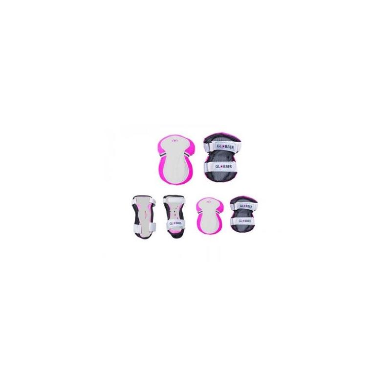 Globber σετ προστατευτικών αξεσουάρ XS pink (541-100) για ποδήλατο ή πατίνι Dalavikas bikes