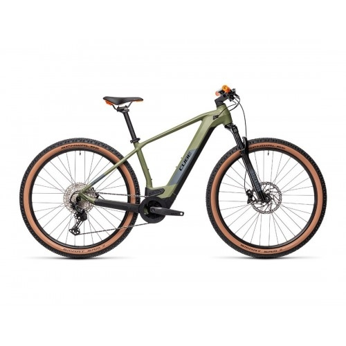 "Cube Reaction Hybrid Race 625 29"" Green 'n' Orange - 2021 Δαλαβίκας bikes"