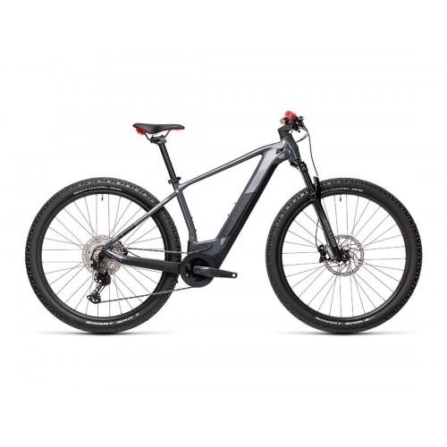 "Cube Reaction Hybrid Race 625 29"" Grey 'n' Red - 2021 Δαλαβίκας bikes"