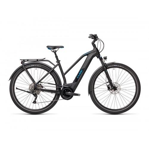Cube Kathmandu Hybrid Pro 625 Lady Black 'n' Blue - 2021 Δαλαβίκας bikes