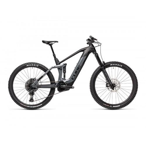 "Cube Stereo Hybrid 160 HPC SL 625 27.5"" Grey 'n' Black - 2021 Δαλαβίκας bikes"