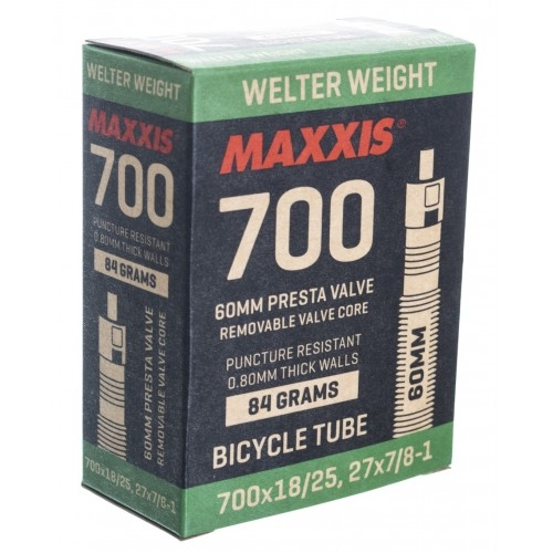 Αεροθάλαμος Maxxis 700x18/25 F/V 60 mm Welter Weight
