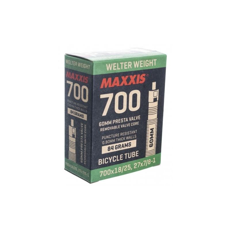 Αεροθάλαμος Maxxis 700x18/25 F/V 60 mm Welter Weight Dalavikas bikes