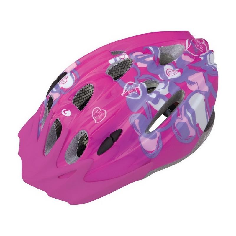 Limar 515 Pink Hearts κράνος ΜΤΒ