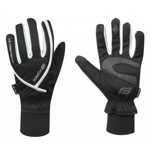 Force γάντια μακριά Ultra Tech Μαύρο/Άσπρο Δαλαβίκας bikes